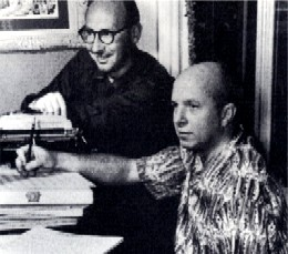 Sammy Cahn and Jimmy Van Heusen