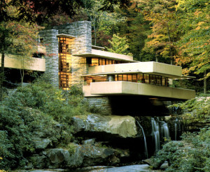 Fallingwater - Frank Lloyd Wright related to Marital Arts