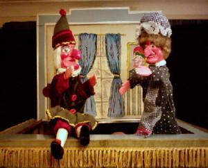 Punch and Judy for the Marital Arts